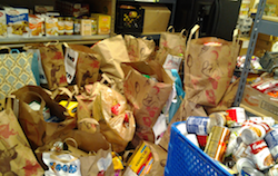 Donated Groceries